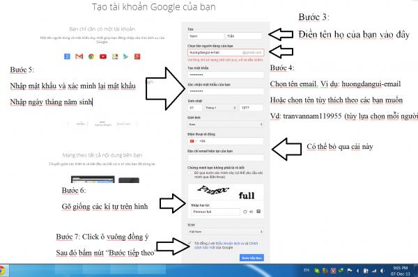tạo tk gmail mới